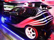 Mobil 1  presentó en Colombia el simulador de carreras VRX iMotion Z-46