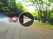 La magia del drifting capturada en video