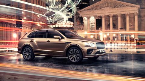 Bentley Bentayga Hybrid 2021, el SUV enchufable de lujo ahora presume más autonomía