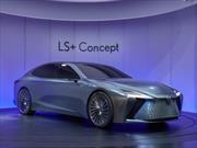Lexus LS+ Concept se avecina un gran buque insignia