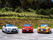 Comparativa Hot Hatches: SEAT León Cupra vs VW Golf GTI vs MINI Cooper S