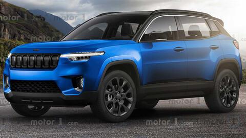 Así sería la nueva mini SUV de Jeep