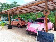 Habitaciones de hotel mexicano son un Volkswagen