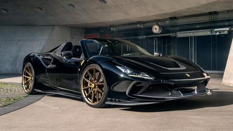 Ferrari F8 Spider retocada por Novitec: supera los 800 CV y 340 km/h de máxima