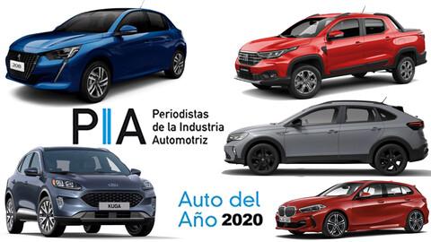 Peugeot y Volkswagen, los mejores autos del año en Argentina
