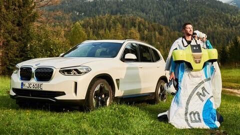 BMW pone a punto sistema de propulsión eléctrica para un traje de alas