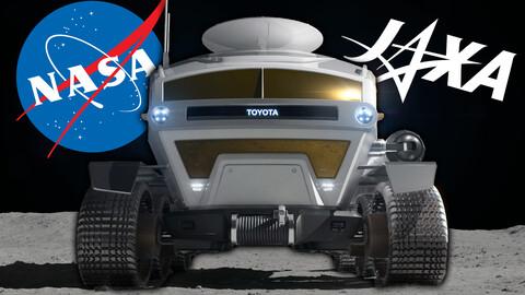 Toyota Space Mobility Concept llegaría a la Luna en 2025