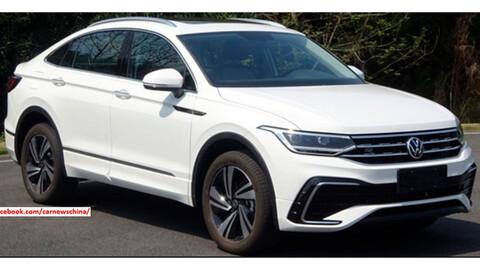 Volkswagen Tiguan X, se viene un SUV estilo coupé