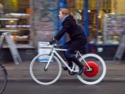 Copenhagen Wheel transforma tu bicicleta en una eléctrica