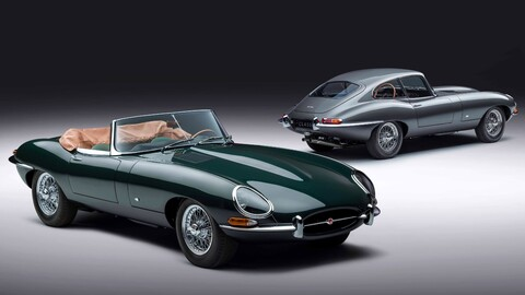 Jaguar E-Type 60 Collection, para disfrutar del clásico