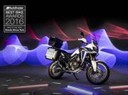 Honda Africa Twin es nombrada la Moto del Año 2016 en Inglaterra