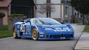 El EB110, un superauto con el que un fanático revivió a Bugatti