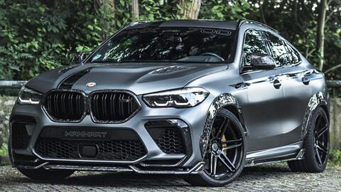 Manhart juega de local y presenta su versión del BMW X6 en Munich
