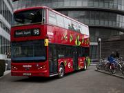 El primer autobus Double Decker 100% eléctrico llega a las calles de Londres