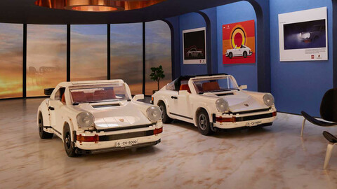 LEGO Porsche 911 Turbo y 911 Targa es un kit 2 en 1