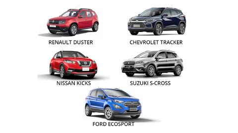 SUV de entrada: ¿cuál tiene mejor costo de repuestos? (I trimestre 2021)