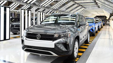 Volkswagen inicia la producción del Taos en México