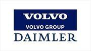 Daimler y Volvo se enfocan en los camiones movidos por hidrógeno