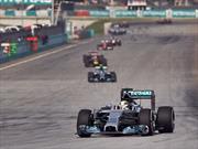 F1: Hamilton gana en Bahrein y Checo queda en tercero