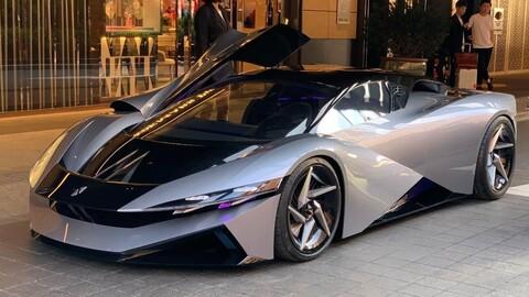 Farnova Othello, hiperauto eléctrico con más de 1.800 hp y 12.000 Nm de torque