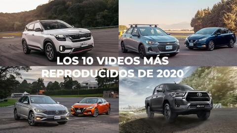 Los 10 videos más vistos en Autocosmos en 2020