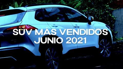 SUV más vendidos en Colombia en junio de 2021