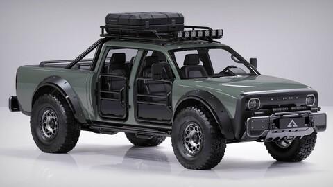 Alpha SuperWolf: un pickup eléctrico como ningun otro