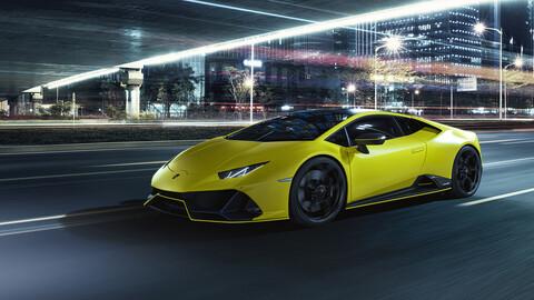 Lamborghini Huracán EVO Fluo Capsule, para destacar en la oscuridad