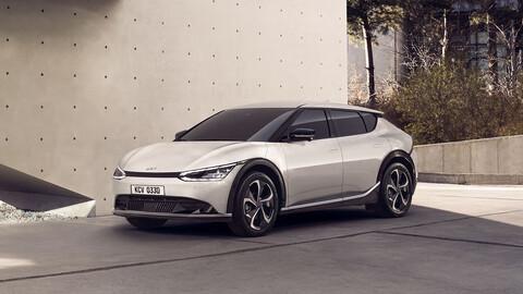 KIA EV6, el primer auto 100% eléctrico de los coreanos, se anticipa a su debut global