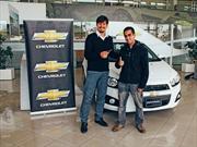 Chevrolet Chile regaló los dos primeros Sonic Sedán 2013