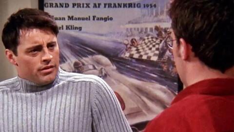 Conocé la curiosa conexión entre Fangio y Friends