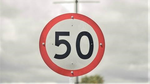 Velocidad máxima en Bogotá se limita a 50 km/h