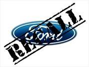 Recall de Ford a 1,600 unidades