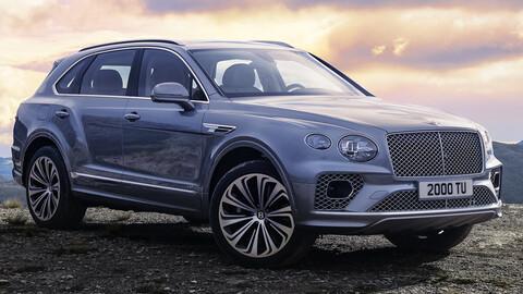 Bentley Bentayga y Porsche Cayenne 2021 a revisión en Estados Unidos