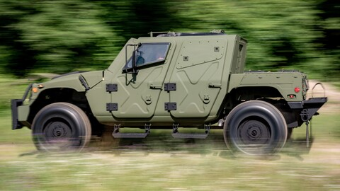 Humvee NXT 360 2022, el heredero del Hummer