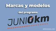 Estas son las marcas y modelos que se suman al programa Junio 0Km