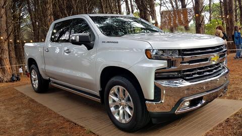 Chevrolet Silverado: así es en persona