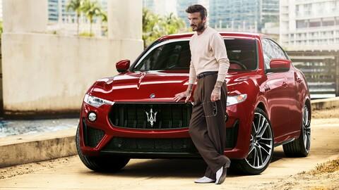 David Beckham se convierte en el nuevo embajador de Maserati