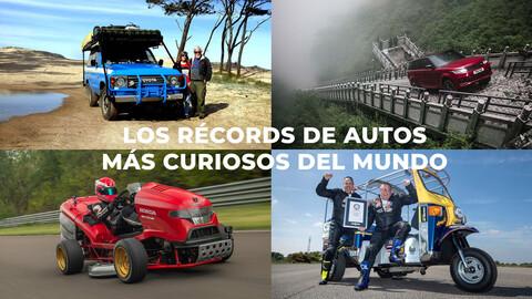 Conoce los récords de autos más curiosos y extraños del mundo