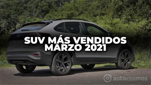 SUV más vendidos en Colombia en marzo de 2021