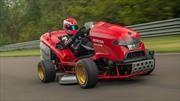 Honda tiene la podadora de pasto más rápida del mundo