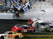 Brutal accidente en Daytona