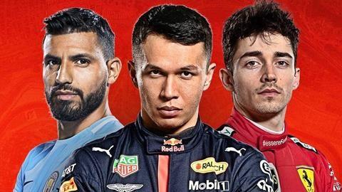 El Kun Agüero correrá en la F1… virtual