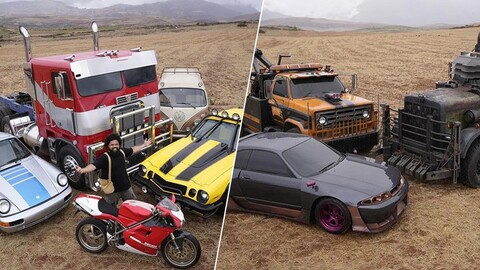 Transformers sigue con los autos retro para Rise of the Beasts
