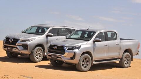 Presentan en Colombia renovadas Toyota Hilux y Toyota SW4