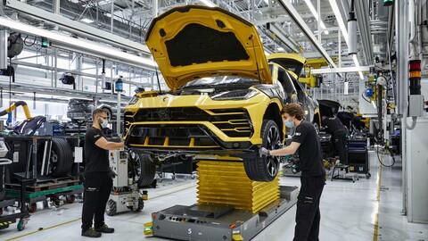 Lamborghini registra 15,000 unidades producidas del Urus en tres años