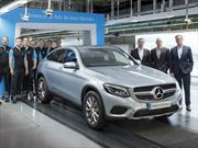 Mercedes-Benz inicia la producción del GLC Coupé 2017