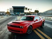 Dodge Challenger SRT Demon 2018 siembra el caos en New York