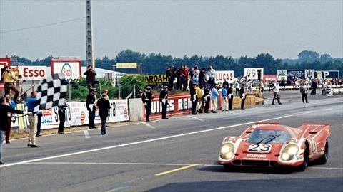 Porsche cumple 50 años de su primer triunfo en las 24 Horas de Le Mans