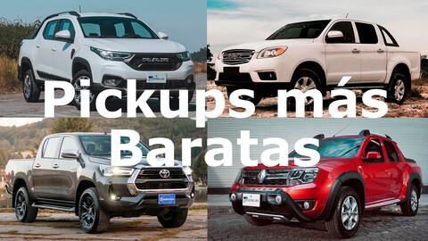 Las 10 pickups más baratas en México en 2021